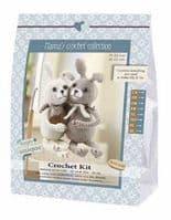 Go Handmade Crochet Kit Lapins Lily & Tim